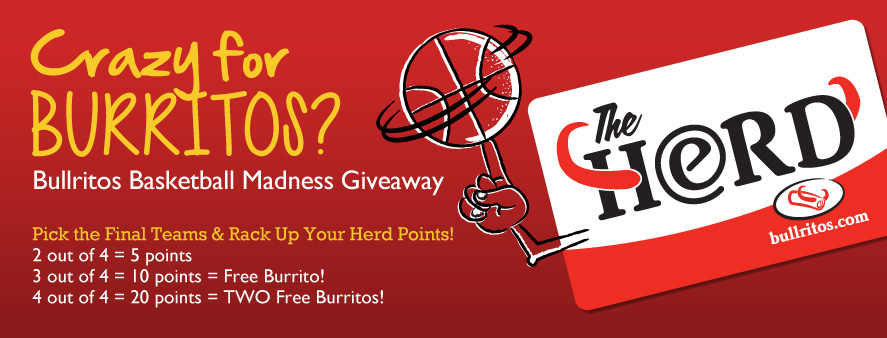 Crazy for Burritos? Bullritos Madness Giveaway