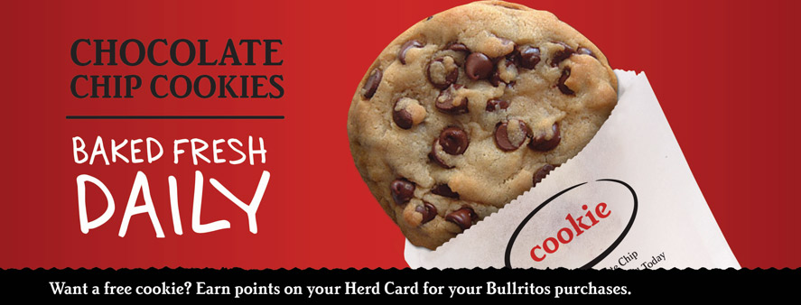 Chocolate Chip Cookies Baked Daily Bullritos